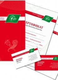 Корпоративный стиль для Центра Валентина Ковалева